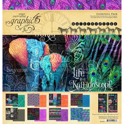 Graphic 45 Kaleidoscope - Collection Pack