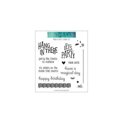 Concord & 9th Clear Stamps - Pinata Party