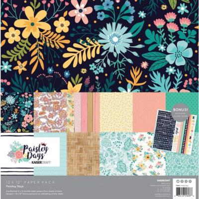 Kaisercraft Paper Pack - Paisley Days