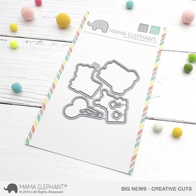 Mama Elephant Creative Cuts - Big News
