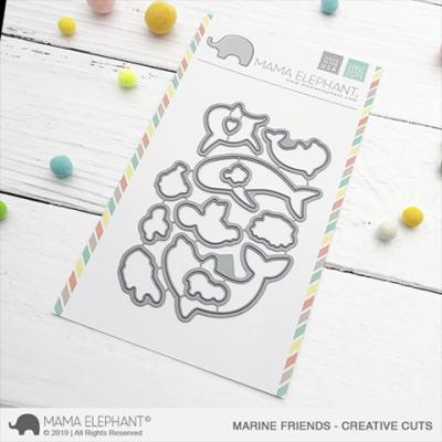Mama Elephant Creative Cuts - Marine Friends
