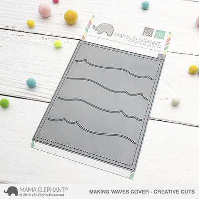 Mama Elephant Creative Cuts - Making Waves Cover