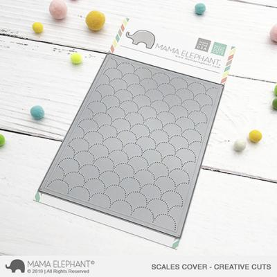 Mama Elephant Creative Cuts - Scales Cover