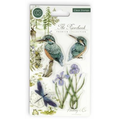 Craft Consortium Clear Stamps - Kingfisher
