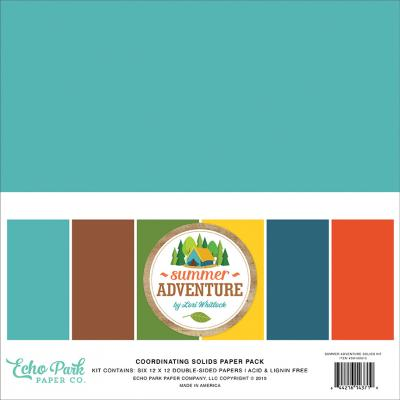 Echo Park Summer Adventure - Cardstock