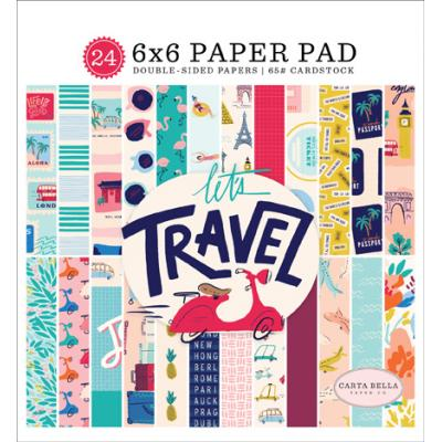 Carta Bella Let's Travel - Paper Pad