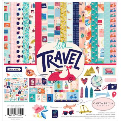 Carta Bella Let's Travel - Collection Kit
