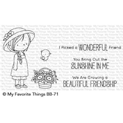 My Favorite Things Clear Stamps - BB Bring Out the Sunshine