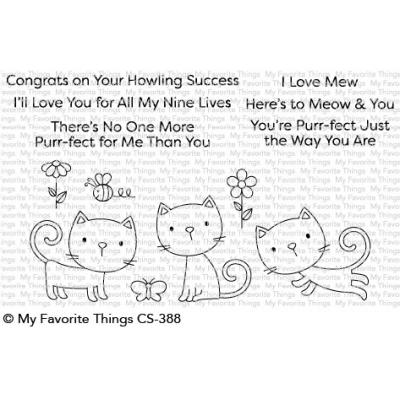 My Favorite Things Clear Stamps - Purr-fect
