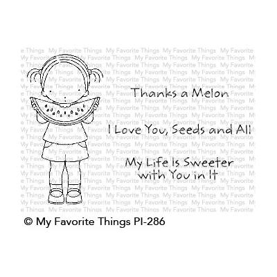 My Favorite Things Clear Stamps - PI Sweet Summertime