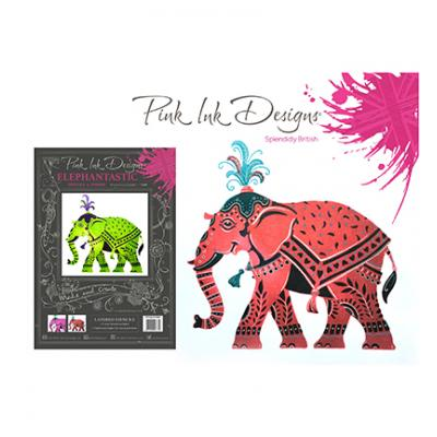 Creative Expressions - Stencil Elephant