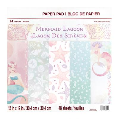 Craft Smith Paper Pad - Mermaid Lagoon