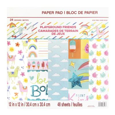 Craft Smith Paper Pad - Playground Friends