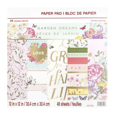 Craft Smith Paper Pad - Garden Dreams