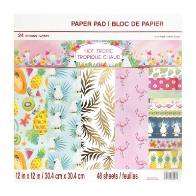 Craft Smith Paper Pad - Hot Tropic