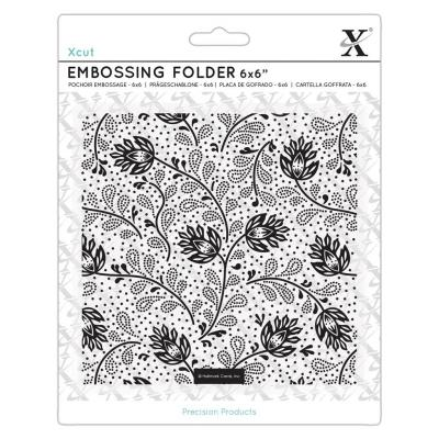 Xcut Embossing Folder - Abstract Thistles