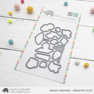 Mama Elephant Creative Cuts - Beach Chickies