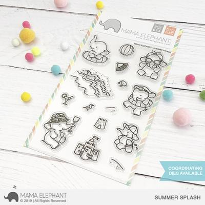 Mama Elephant Clear Stamps - Summer Splash