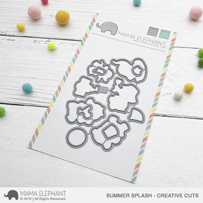 Mama Elephant Creative Cuts - Summer Splash