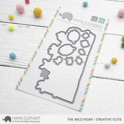 Mama Elephant Creative Cuts - The Wild Roar