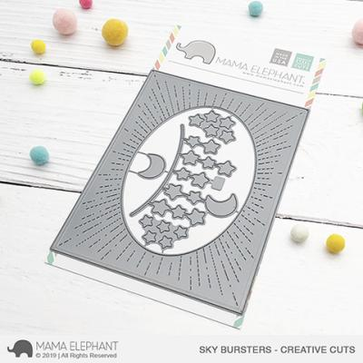 Mama Elephant Creative Cuts - Sky Bursters