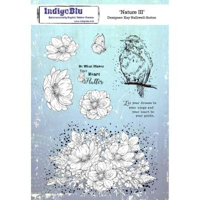 IndigoBlu Rubber Stamp - Nature