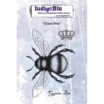 IndigoBlu Rubber Stamps - Giant Bee