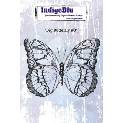 IndigoBlu Rubber Stamp - Big Butterfly