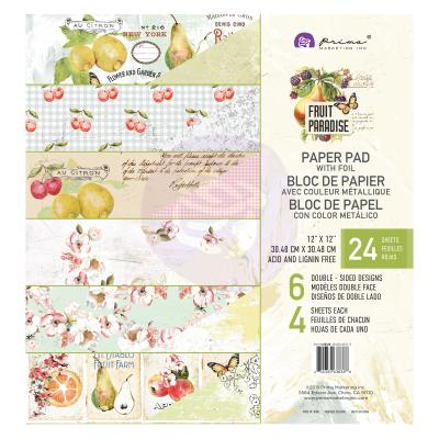 Prima Marketing Paper Pad 12 Inch - Fruit Paradise