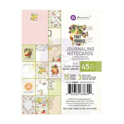 Prima Marketing - Journaling Cards