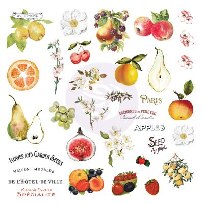 Prima Marketing Fruit Paradise - Ephemera mit Stickern
