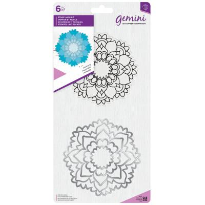 Gemini Clear Stamps und Outline-Stanzschablonen - Harmony