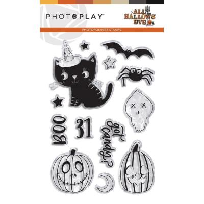 PhotoPlay All Hallows' Eve - Clear Stamps
