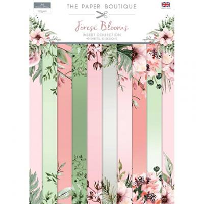 The Paper Boutique Forest Blooms - Insert Collection