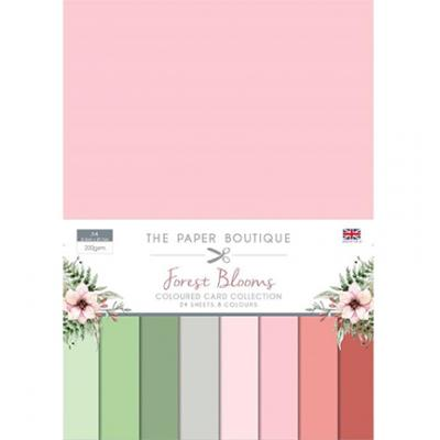 The Paper Boutique Forest Blooms - Cardstock