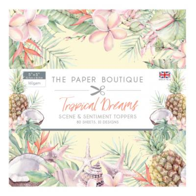 The Paper Boutique Tropical Dreams Sentiments Pad