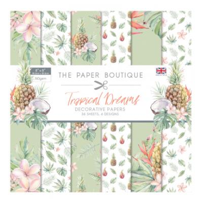 The Paper Boutique Tropical Dreams - Paper Pad