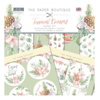 The Paper Boutique Tropical Dreams - Paper Kit
