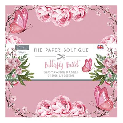The Paper Boutique Butterfly Ballet Panel - Pad