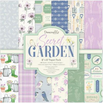 Dovecraft Secret Garden - Paper Pad