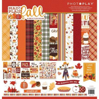 PhotoPlay Mad 4 Plaid Fall - Collection Pack