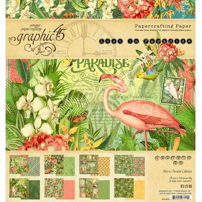 Graphic 45 Lost in Paradise - Paper Pad