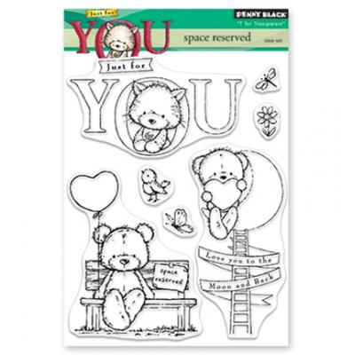 Penny Black Clear Stamps - Space Reserved