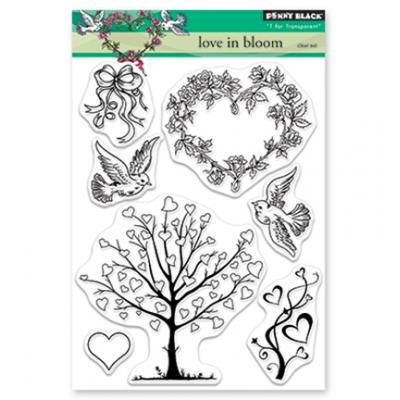 Penny Black Clear Stamps - Love In Bloom