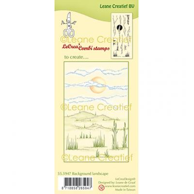 Leane Creatief Clear Stamps - Landschaft