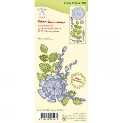 Leane Creatief Clear Stamps - Blume