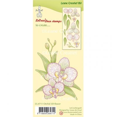 Leane Creatief Clear Stamps - Orchidee