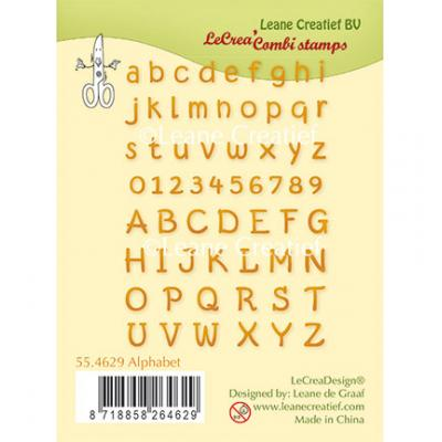 Leane Creatief Clear Stamps - Alphabet