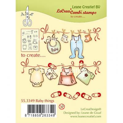 Leane Creatief Clear Stamps - Baby Things