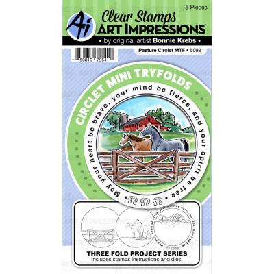 Art Impressions - Clear Stamps - Pasture